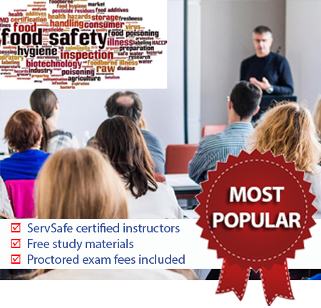 ServSafe© Manager: Classroom training and exam | ServSafe