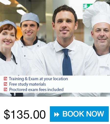 Food safety training and certification choices